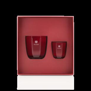 Gift Box Candele Rosso Nobile