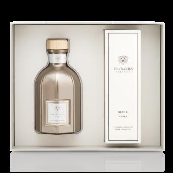 Gift Box con Diffusore Oro 500ml e Ricarica a scelta - Christmas Edition