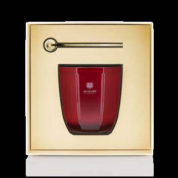Gift Box Candela Rosso Nobile con Spegnifiamma