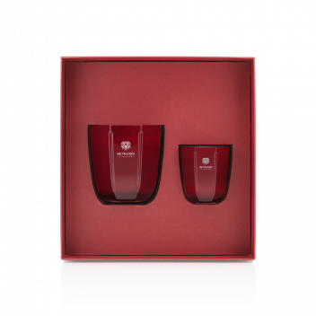 Gift Box Candele Rosso Nobile